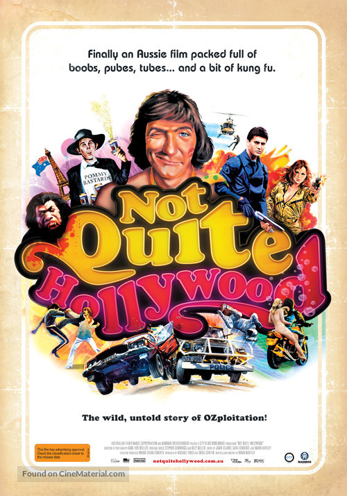 Not Quite Hollywood - Australian Movie Poster