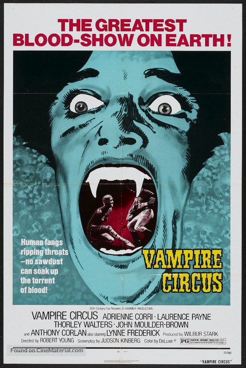 Vampire Circus - Movie Poster