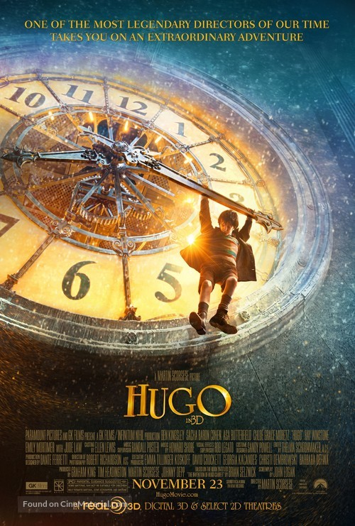 Hugo - Movie Poster