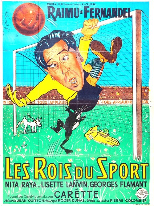 Rois du sport, Les - French Movie Poster