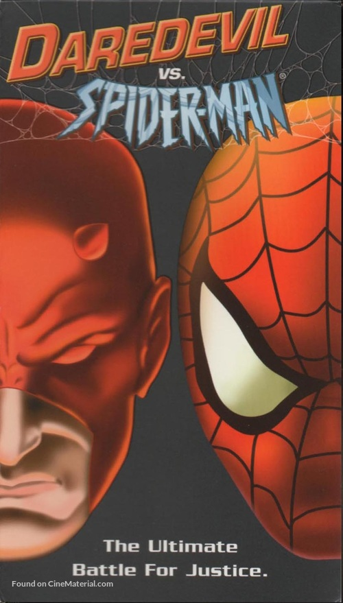 """""""Spider-Man"""" - VHS movie cover"""