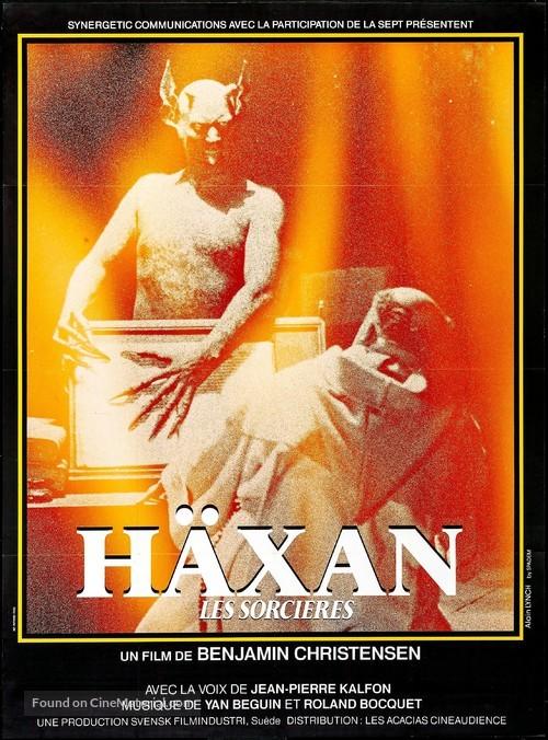 Häxan - French Movie Poster