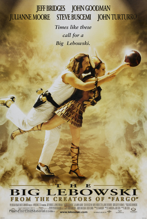 The Big Lebowski - Theatrical movie poster