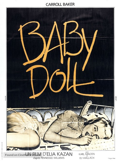 Baby Doll - French Re-release movie poster