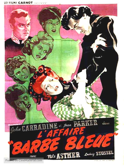 Bluebeard - French Movie Poster