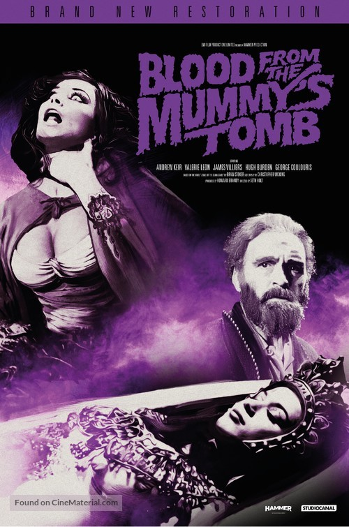 Blood from the Mummy's Tomb - British Movie Poster