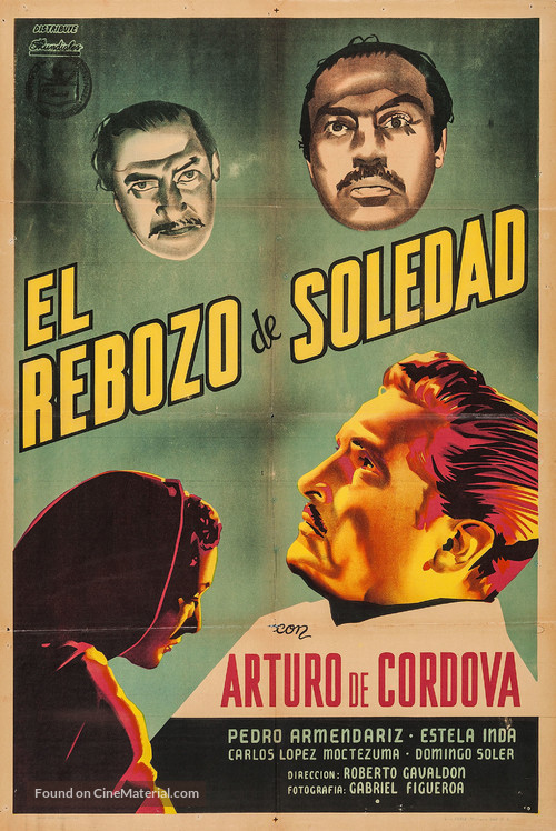 El rebozo de Soledad - Argentinian Movie Poster