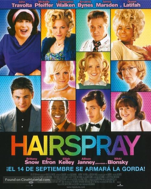 Hairspray - Spanish Movie Poster