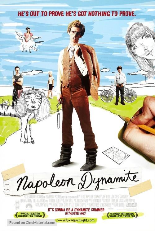 Napoleon Dynamite - Theatrical movie poster