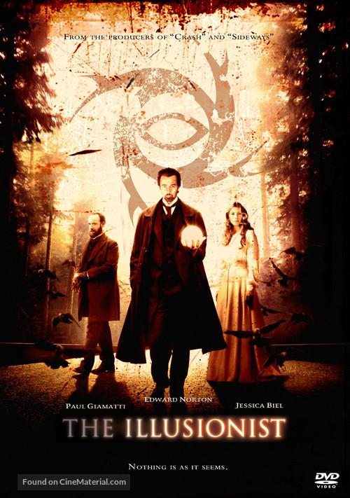 The Illusionist - Movie Cover