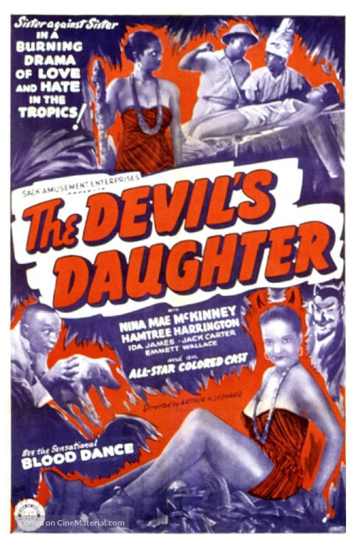 The Devil's Daughter - Movie Poster