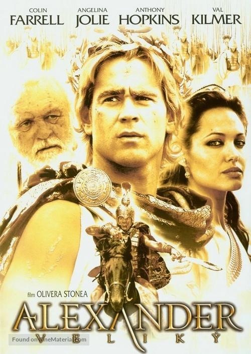 Alexander - Czech Movie Cover