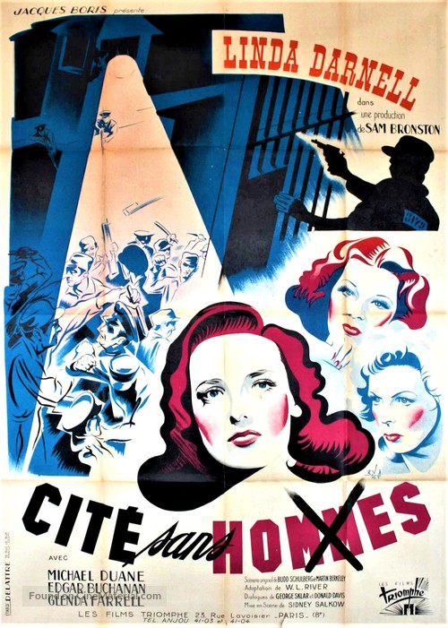 City Without Men - French Movie Poster