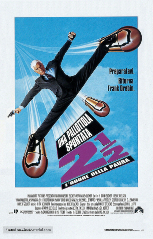 Watch The Naked Gun 2½: The Smell of Fear 1991 full HD on