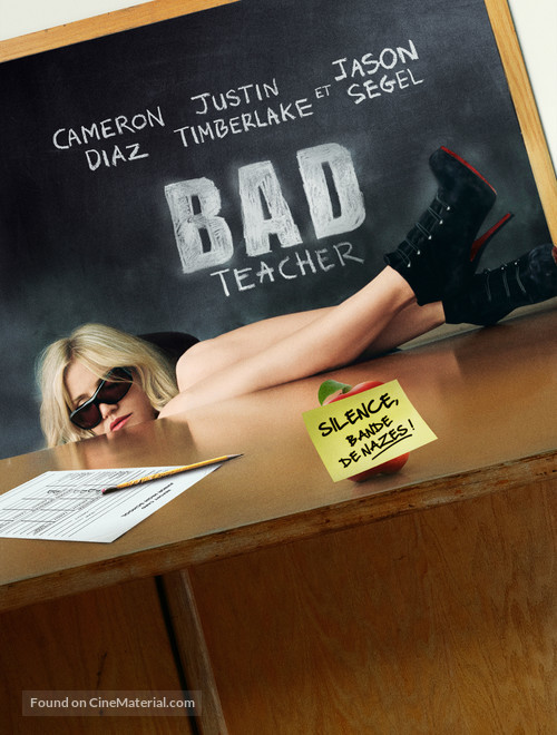 Bad Teacher - French Movie Poster