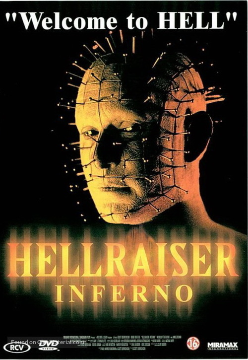 Hellraiser: Inferno - Dutch Movie Cover