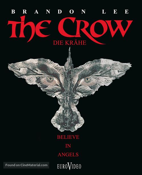 The Crow - German Blu-Ray movie cover