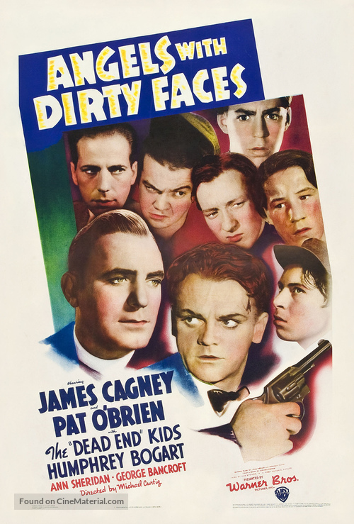 Angels with Dirty Faces - Theatrical movie poster