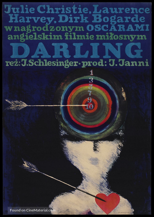 Darling - Polish Movie Poster