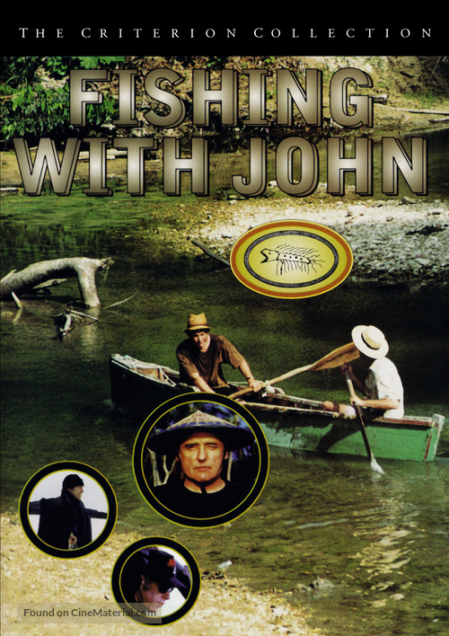"""""""Fishing with John"""" - DVD movie cover"""