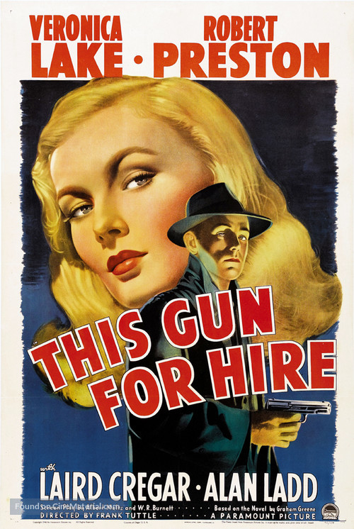 This Gun for Hire - Movie Poster