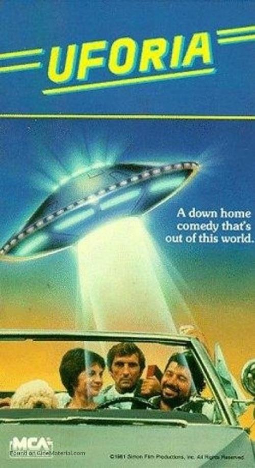 UFOria - VHS movie cover