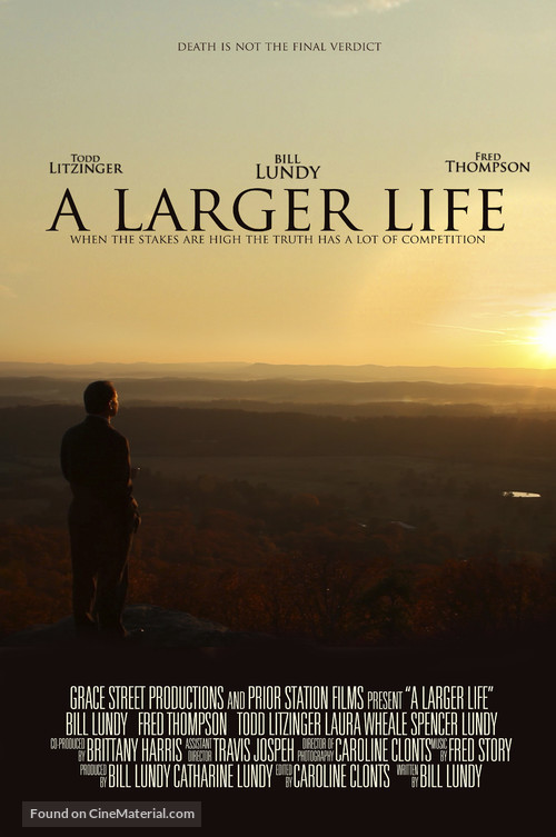A Larger Life - Movie Poster