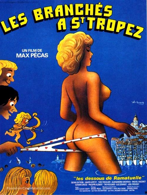 Les branchés à Saint-Tropez - French Movie Poster