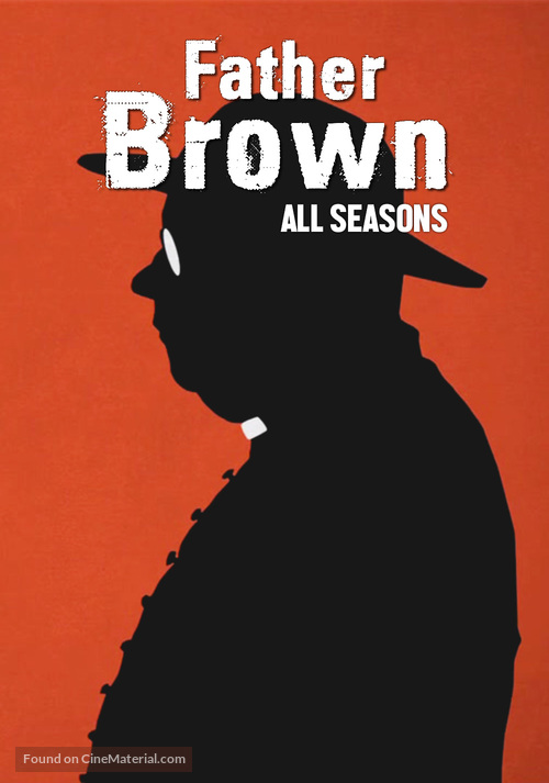 """""""Father Brown"""" - British Movie Cover"""