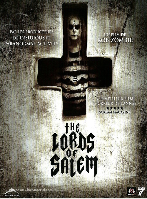The Lords of Salem - French DVD movie cover