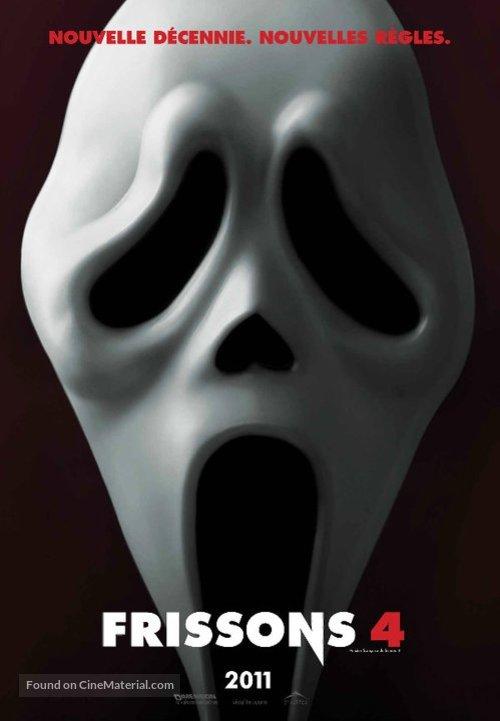 Scream 4 - Canadian Movie Poster