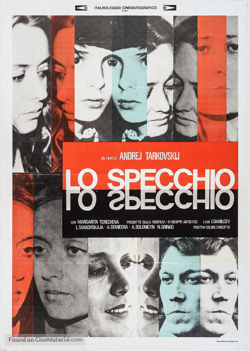 The Mirror - Italian Movie Poster