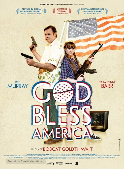 God Bless America - French Movie Poster