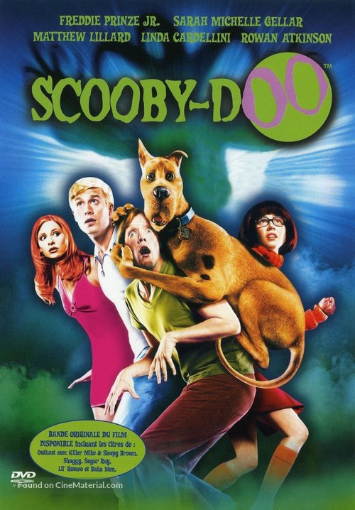 Scooby Doo 2002 French Dvd Movie Cover