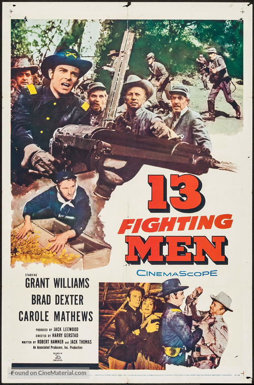 13 Fighting Men - Movie Poster