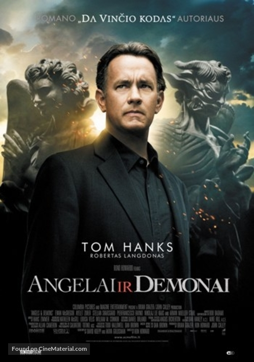 Angels & Demons - Lithuanian Movie Poster
