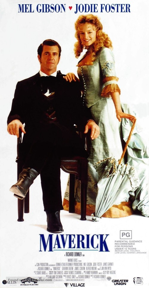 Maverick - Australian Movie Poster