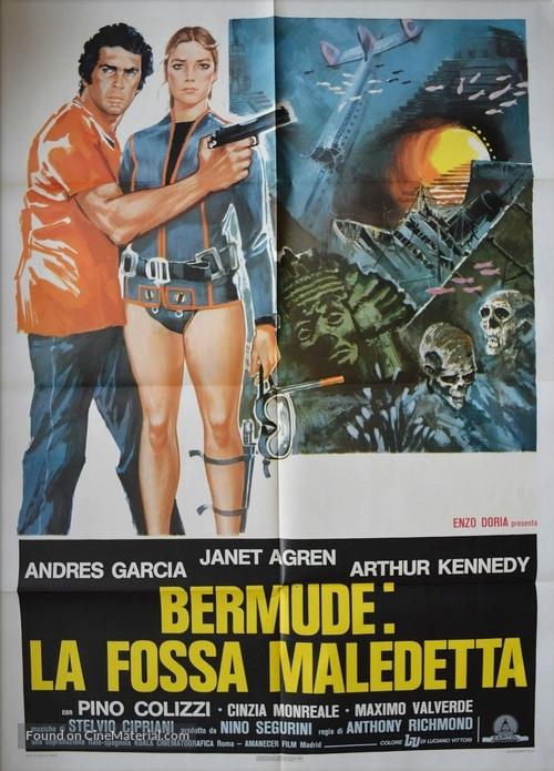 Bermude: la fossa maledetta - Italian Movie Poster