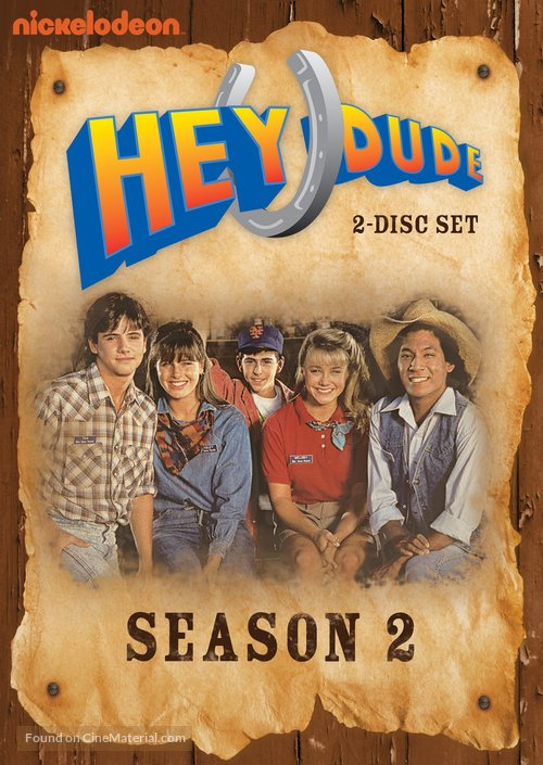 """Hey Dude"" - DVD movie cover"
