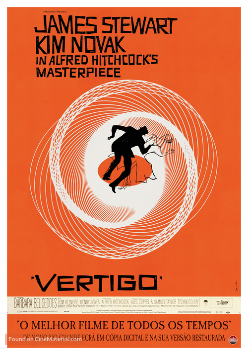 Vertigo - Portuguese Movie Poster