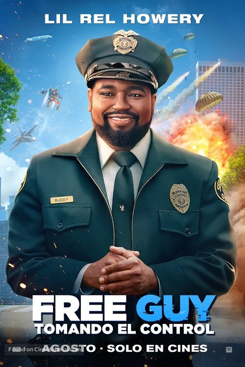 Free Guy - Mexican Movie Poster