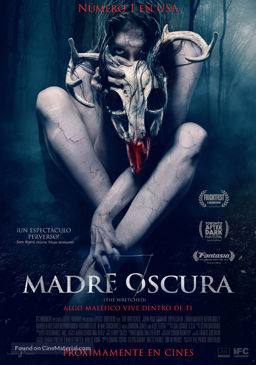 The Wretched - Spanish Movie Poster