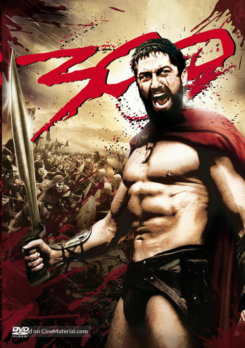 300 - DVD cover