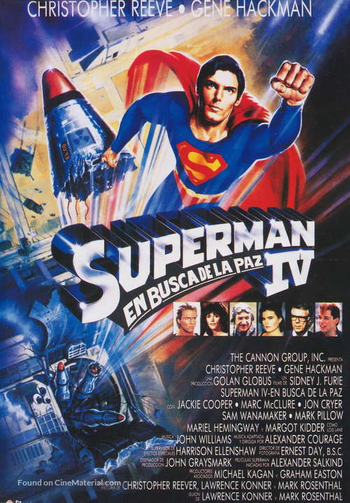 Superman IV: The Quest for Peace - Spanish Movie Poster