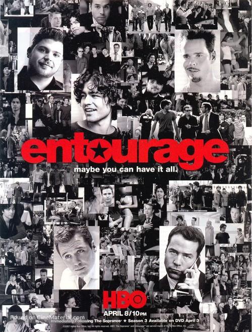 """""""Entourage"""" - Movie Cover"""