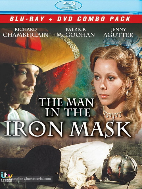 The Man in the Iron Mask - Movie Cover