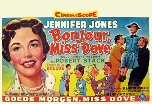 Good Morning, Miss Dove - Belgian Movie Poster