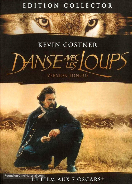 Dances with Wolves - French DVD movie cover