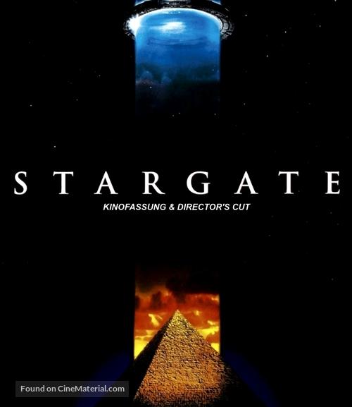 Stargate - German Blu-Ray movie cover