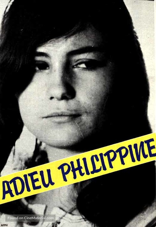 Adieu Philippine - French Movie Cover